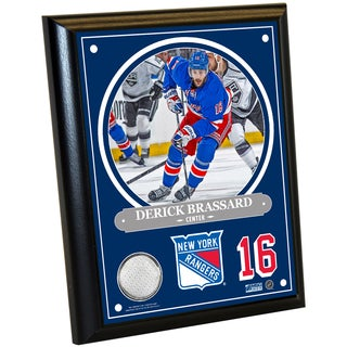 Derick Brassard 8x10 Player Plaque w/ Game Used Uniform