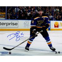 David Backes Signed 8x10 Photo