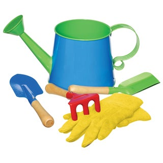 Toysmith Kids' Watering Can Garden Kit