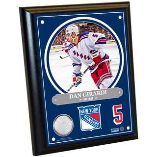 Dan Girardi 8x10 Player Plaque w/ Game Used Uniform