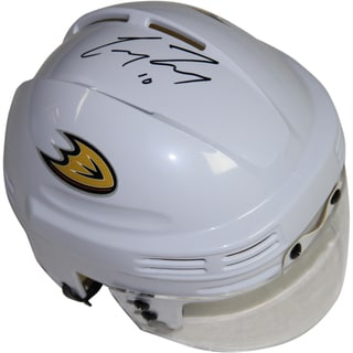 Corey Perry Signed White Anaheim Ducks Logo Mini Helmet