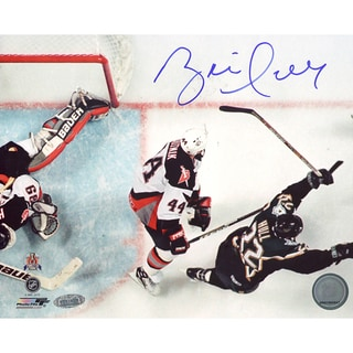Brett Hull Dallas Stars Game Winning Goal Overhead Horizontal 8x10 Photo