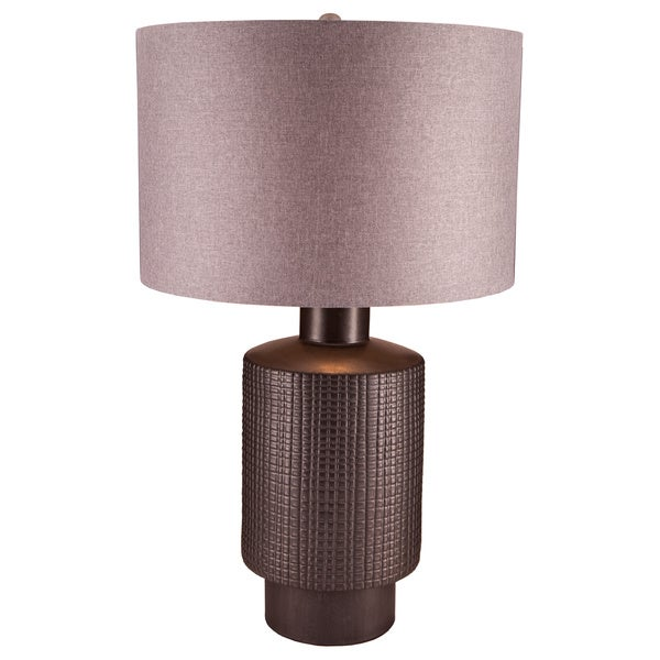 Benson 1 Light Table Lamp In Roasted Coffee