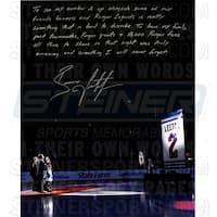 Brian Leetch Signed 16x20 Retirement Night 16x20 Story Photo