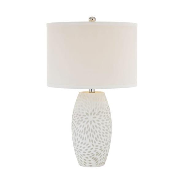 Elk Lighting Farrah 1-light White Table Lamp