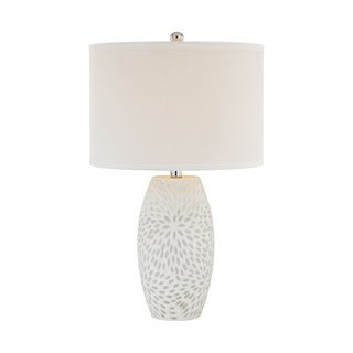 Elk Lighting Farrah 1-light White Table Lamp