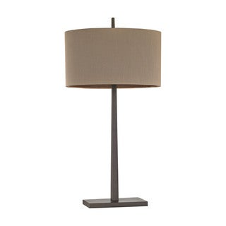 Elk Lighting Wheatstone 1-light Bronze Table Lamp