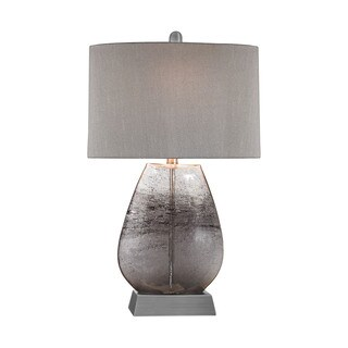 Elk Lighting Haarlem 1-light Storm Grey and Pewter Table Lamp