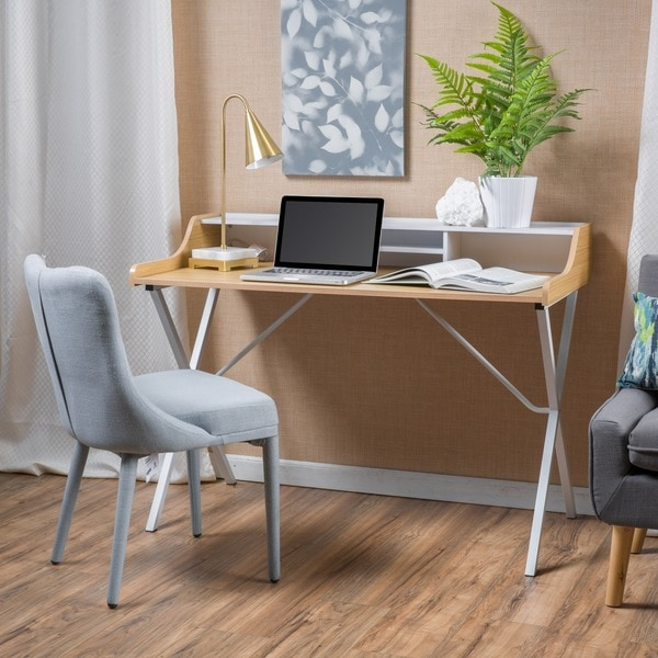 Aalto Modern Faux Wood Computer Desk by Christopher Knight Home