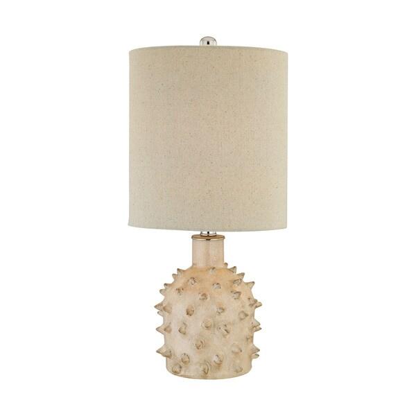 Elk Lighting Kankada 1-light Cumberland Cream Crackle Table Lamp