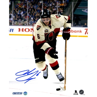 Bobby Ryan Signed Skating With Puck During the Tim Horton Heritage Classic 8x10 Photo