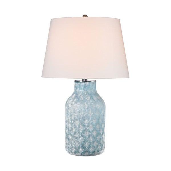 Elk Lighting Sophie 1-light Santa Monica Blue Table Lamp