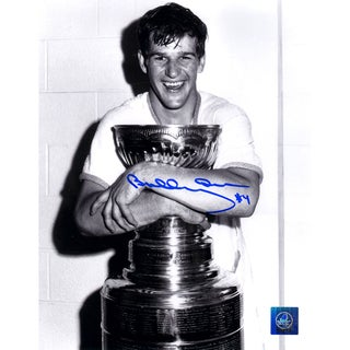 Bobby Orr Boston Bruins Signed Stanley Cup Champion 8x10 Photo: GNR COA