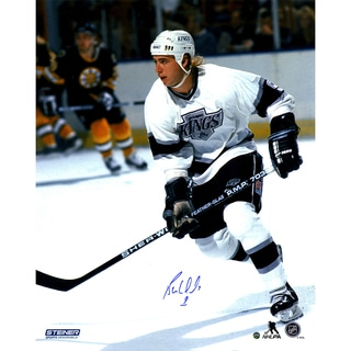 Bernie Nicholls Signed LA Kings 16x20 Photo