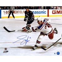Adam Graves Signed Slapshot 16x20 Photo