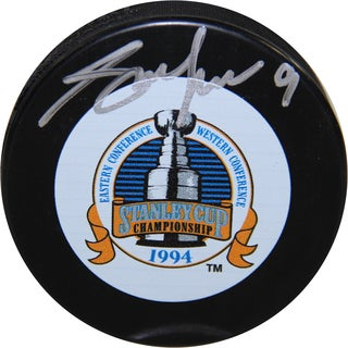 Adam Graves 1994 Stanley Cup Puck
