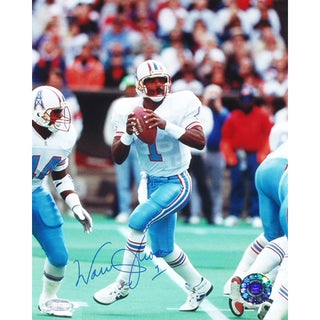 Warren Moon Oilers 8x10 Photograph