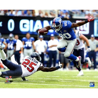 Victor Cruz Juke vs Houston Texans 16x20 Photo