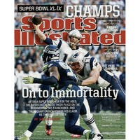 Tom Brady Sports Illustrated Superbowl 49 16x20 Photo