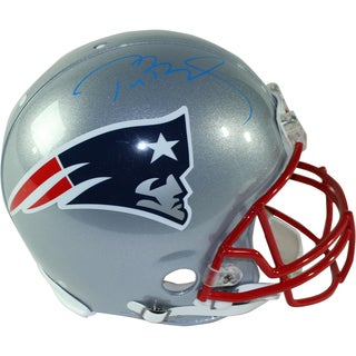 Tom Brady Signed Patriots Authentic Proline Full Size Helmet