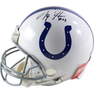 T.Y Hilton Signed Indianapolis Colts Riddell Proline Helmet