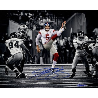 Steve Weatherford Super Bowl Punting 16x20 Photo