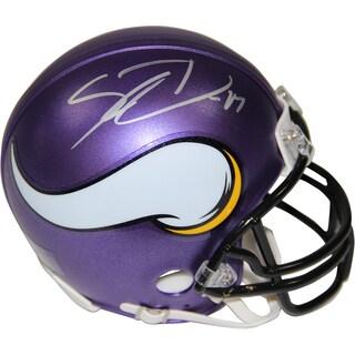 Stefon Diggs Signed Minnesota Vikings Mini Helmet