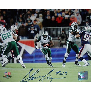 Shonn Greene 20yrd Run vs Patriots Horizontal 8x10 Photo