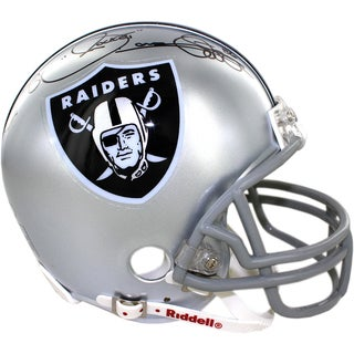 Rocket Ismail Signed Oakland Raiders Mini Helemt
