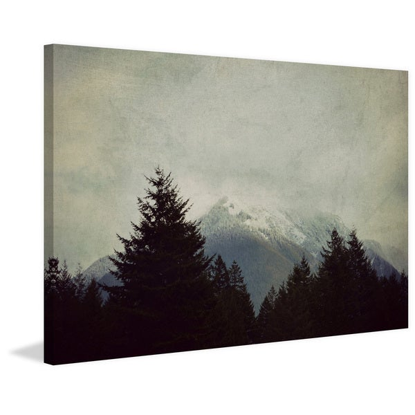 Marmont Hill - 'Brave the Storm' by Robert Dickinson Painting Print on Canvas - Multi-color