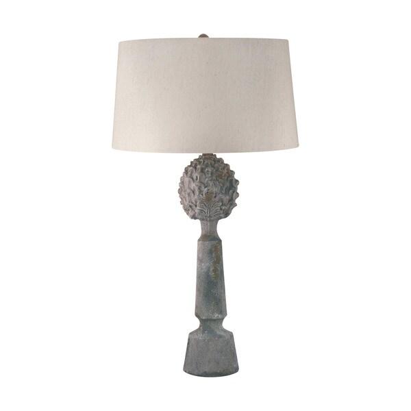 Earthenware Pineapple Top Ceramic Table Lamp