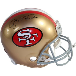 Joe Montana Signed San Francisco 49ers Authentic Helmet