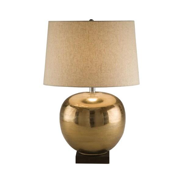 Elk Lighting Brass Ball Table Lamp
