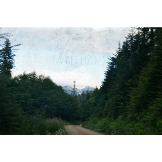 Marmont Hill - 'Go Get Lost' by Robert Dickinson Painting Print on Canvas