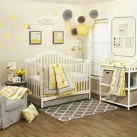 The Peanut Shell Girls' 'Stella' 4-piece Crib Bedding Set