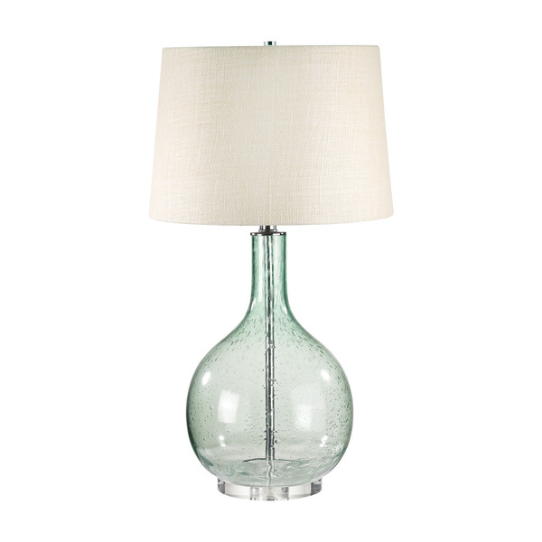 Green Seed Glass Table Lamp