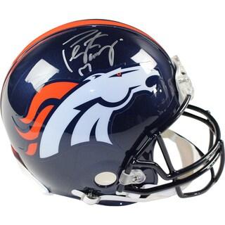 Peyton Manning Signed Denver Broncos Authentic Helmet