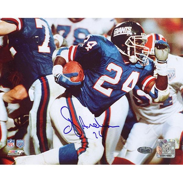 OJ Anderson SB XXV Rushing 8x10 Photo