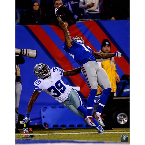 Odell Beckham Jr. One-Handed Catch Vertical 16x20 Photo
