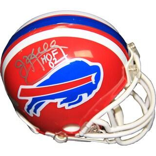 Jim Kelly Signed Buffalo Bills Mini Helmet w/ HOF Insc