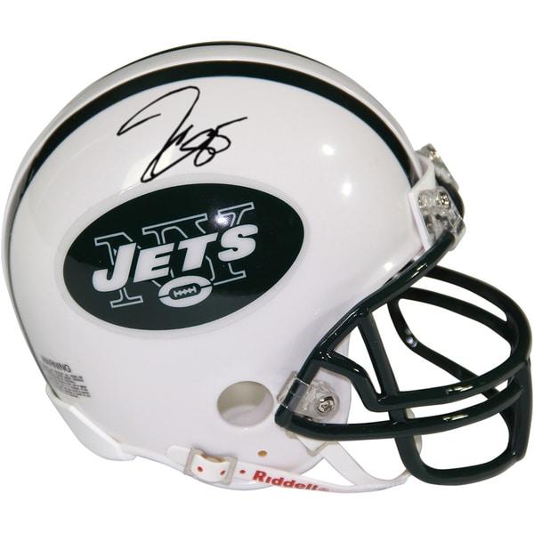Jeff Cumberland Signed New York Jets Mini Helmet