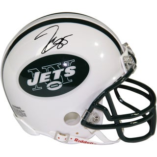 Jeff Cumberland Signed New York Jets Mini Helmet