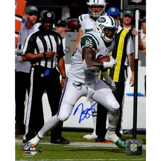 Jeff Cumberland Jets Signed 8x10 Photo