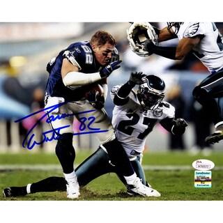 Jason Witten Signed Dallas Cowboys vs Philadelphia Eagles 8x10 Photo