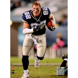 Jason Witten Running Without Helmet 8x10 Photo