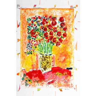 Marmont Hill - 'Spring Bouquet' by Michael Woodward Painting Print on Canvas