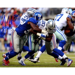 J.T. Thomas III Signed Tackling Darren McFadden 8x10 Photo