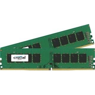 Crucial 32GB (2 x 16 GB) DDR4 SDRAM Memory Module