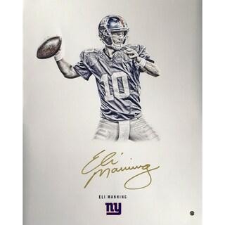 Eli Manning Signed Steiner Platinum Collection 16x20 Photo