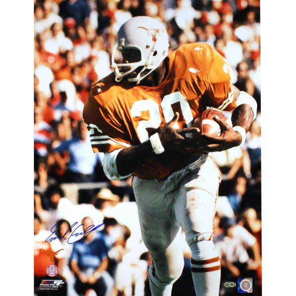 Earl Campbell Signed Texas Longhorns 16x20 Photo